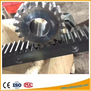 C45 Steel Material Gear Rack and Pinion, Gear and Rack pictures & photos