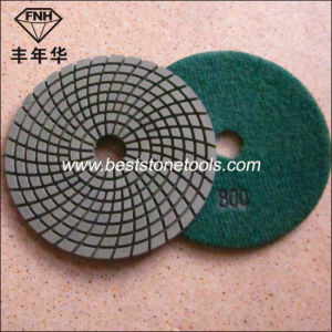 Wd-4 Diamond Wet Flexible Polishing Pad for Grinding Granite pictures & photos