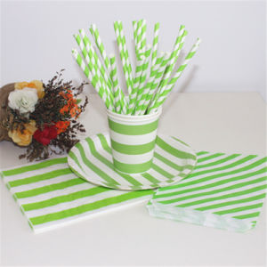 Colorful Paper Napkin Straw Bag with Different Designs for All Occasion pictures & photos