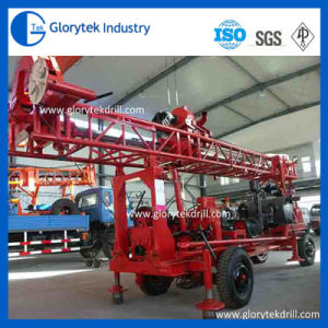 Trailer Mounted Drill Rig Hydraulic Uses of Water Well pictures & photos