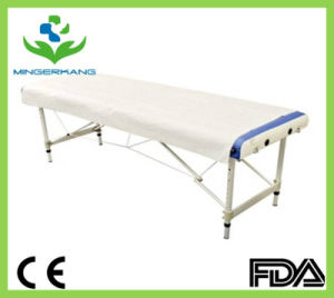 Disposable PE Coated Non Woven Bed Cover pictures & photos