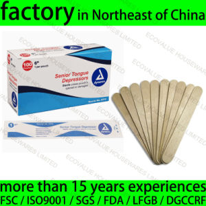Unsterilised Wood Tongue Depressor for Adult Use pictures & photos