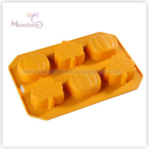 FDA & LFGB Kitchenware Baking Halloween-Shaped Silicone Cake Mould pictures & photos