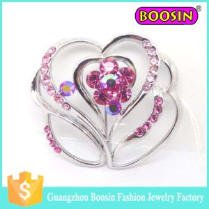 Fashion Wedding Bridal Custom Metal Crystal Bouquet Flower Brooch Pins pictures & photos