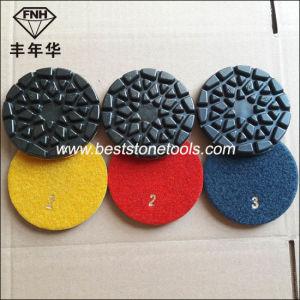 Cr-28 Fnh Marble Polishing Pad Granite Polishing Concrete Polishing 4 Inch pictures & photos