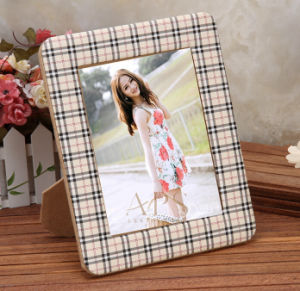 Soft PU Leather Family Photo Frames pictures & photos