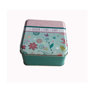 Square Shape Custom Tin Food Packaging Tin Box Promotion Gift Wholesale pictures & photos