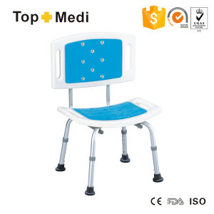 Topmedi Removable Adjustable Height Shower Chair pictures & photos
