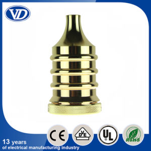 E27 Vintage Brass Pendant Lamp Socket