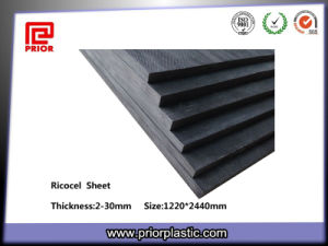 Black Anti-Static Material Ricocel Sheet for PCB Jig pictures & photos