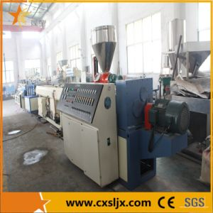 Inverter Driving Conical Twin Screw Extruder (SJSZ) pictures & photos