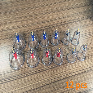 Good Quality Cupping Hijama/Cupping/Cupping Set Hkg-12 with Competitive Price pictures & photos