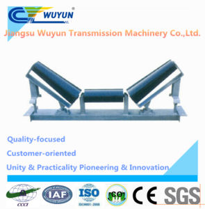 Upper Taper Self-Aligning Conveyor Return Roller Idler Frame and Belt Conveyor Steel Roller pictures & photos