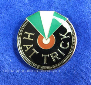 Custom Soft Enamel Golf Ball Marker with Epoxy Dome (GBM-7)