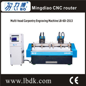 Wood Engraving and Unloading CNC Router Lb-6D-2513