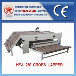 Nonwoven Polyester Fiber Layer Cross Lapping Machine pictures & photos
