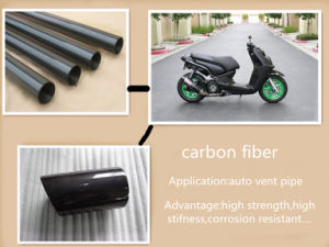 Long Life, Pultruded Anti-Aging Carbon Fiber Tubes pictures & photos