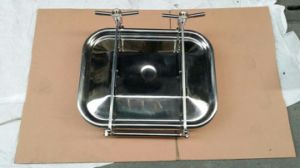 Sanitary Stainless Steel 304 316manhole Normal Pressure Manhole Cover pictures & photos