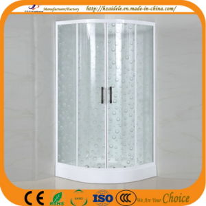 Patterned Glass Simple Shower Cubicle (ADL-8012D) pictures & photos