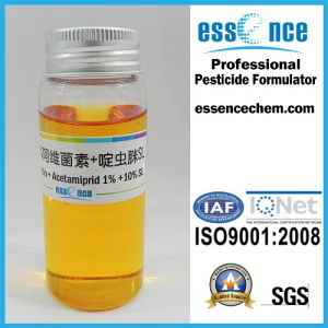 Abamectin 1% + Acetamiprid 10% SL pictures & photos