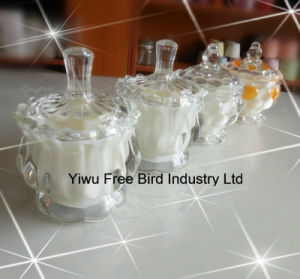 China Factory Birthday Party Decorations Art Jars Glass Candle pictures & photos