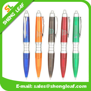 Office Supply Plastic Colorful Ballpoint Pen (SLF-PP059) pictures & photos