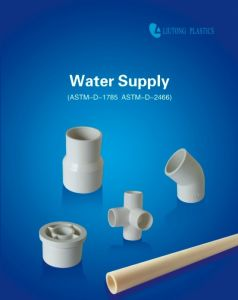 ASTM-D-2466 Standard Plastic UPVC Reducing Coupling for Supply Water pictures & photos