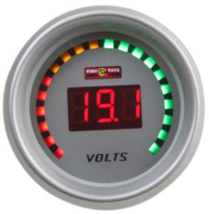 "2"" (52mm) Auto Gauges for 20 LED Digital Gauge (6237B) pictures & photos"
