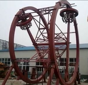 Funfair Adults Amusement Rides Ferris Wheel Ring Car/Thrilling Game Ferris Wheel Ring Car Rides pictures & photos