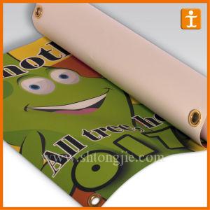 Custom Full Color Print Vinyl Banner (TJ-018) pictures & photos