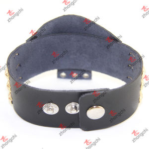 China Factory Custom Any Design Leather Bracelet Wholesale (LB15120405) pictures & photos