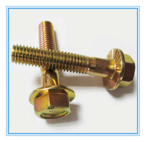 Hexagon Head Flange Bolt DIN6921 pictures & photos