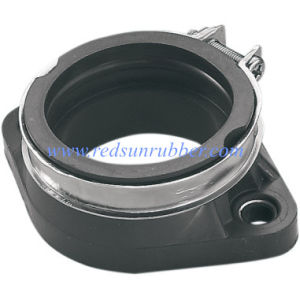 Custom Durable Metal Coated Rubber Flange Gasket