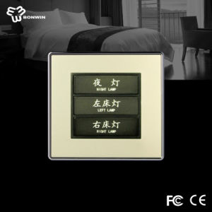 Best Zigbee Hotel/Home Metal Shell and Imported Tempered Glass Touch Screen Wall Switch Board pictures & photos