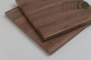 Walnut Solid Panel for Exportation pictures & photos