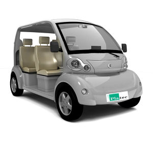 48V3kw 4-5 Seats Electric Golf Cart Tourist Car Passenger Mini Car Pm04 pictures & photos