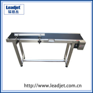 Automatic Rubber Belt Conveyor for Cij Inkjet Printers Manufacturer pictures & photos