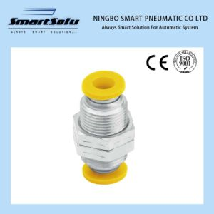 Ningbo Smart Plastic Metal Pm Pneumatic Fittings China Manufacturer pictures & photos