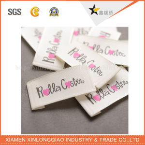 Custom Printer Printed Sticker Printing Garment Product Cloth Woven Label pictures & photos