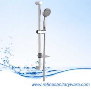 Stainless Steel 201 Slide Rail Shower Kit with Multi-Function Handset (RD102N) pictures & photos