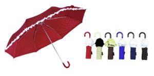 Skirt&Print Automatic 3 Fold Umbrella (YS-3FA22083780R) pictures & photos