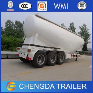 Tri Axles V Shape Bulk Powder Tanker Trailer Price pictures & photos