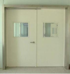 Hospital Door with Glass Viewport