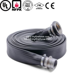 5 Inch Durable Fire Resistant PVC Hose Manufacturer Price pictures & photos