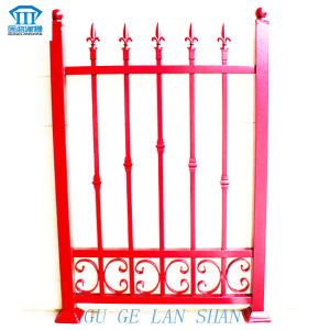 Rust-Proof/Antiseptic/High Quality Security Steel Fence for Garden with Spear pictures & photos