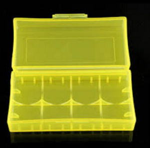 Colorful 18650 Storage Box for Battery Plastic Box pictures & photos