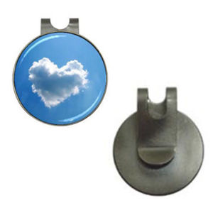 Hat Clip with Printing Sticker Stainless Steel Golf Gift pictures & photos