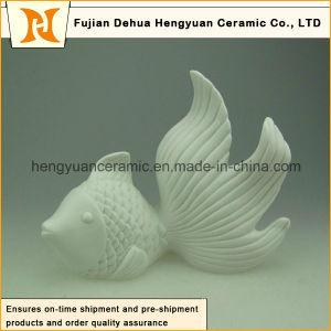 Custom Design Ceramic Fish for Home Decoration pictures & photos