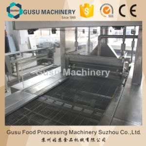 Ce Energy Bar Chocolate Enrobing Machine for Coating Wafer pictures & photos