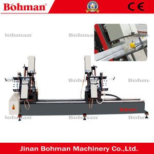 Two Head Water Slot PVC Doors and Windows Making Machine pictures & photos